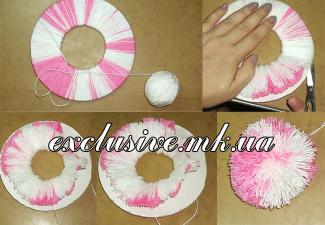Как сделать пампон