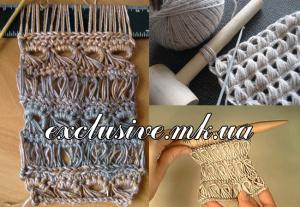 Способы вязания брумстика