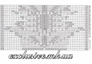 Схема фантазийного узора 10