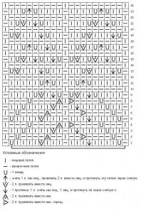 Схема фантазийного узора 9