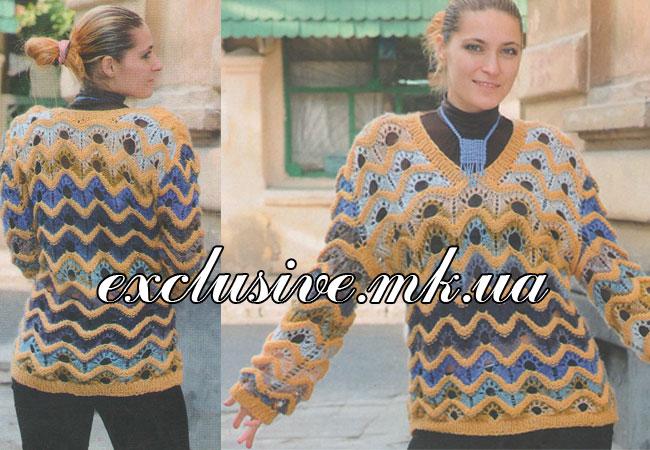 Пуловер Из Секционной Пряжи С Доставкой