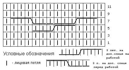Вышивка схема черно белый пейзаж