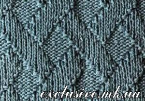 Ромбы плетенка
