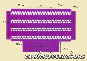 Схема выкройка туники