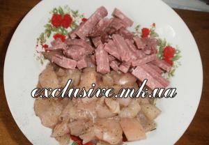 мясо и копчености