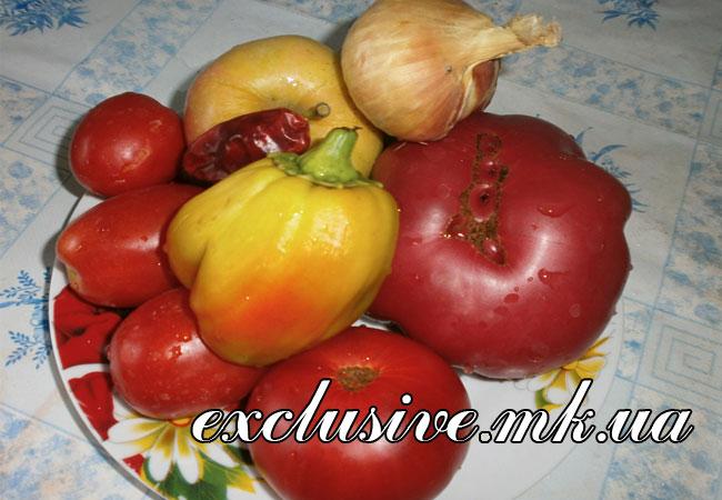 овощи для кетчупа