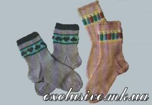 вяжем детские носочки