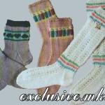 Вяжем носочки для маленьких модниц
