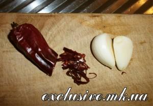 режем горький перец