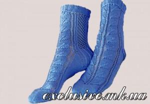 модель 5 кружевные носочки