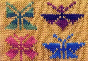 жаккардовые бабочки