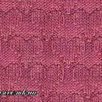 Узор 38 «рельефные сердечки»