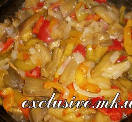 вкусняшка салат из баклажанов