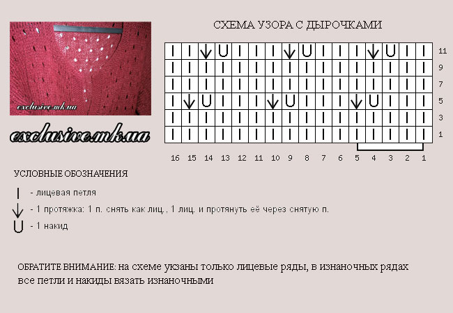 sxema-uzora-s-dyrochkami