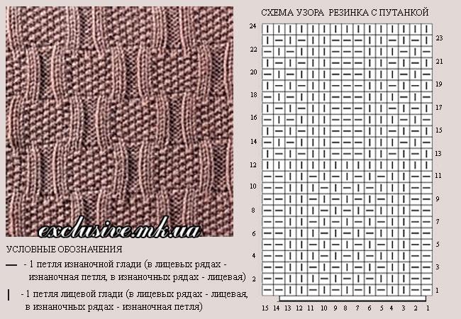 схема-узора-резинка-с-путанкой