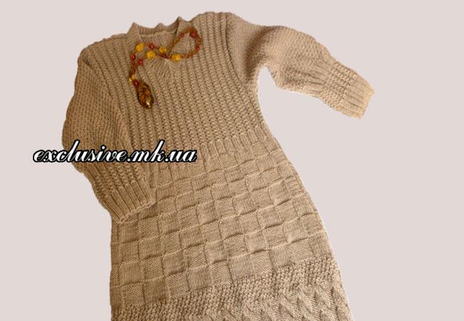 платье-спицами