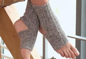 носки для йоги резинкой-2х1