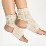 Как связать носки для йоги