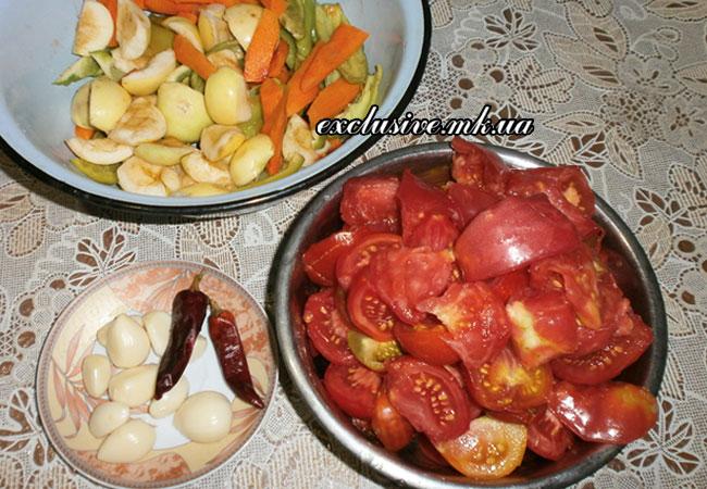 нарезаем-овощи-для-аджики
