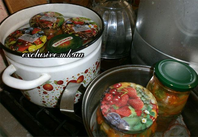стерилизуем-салат