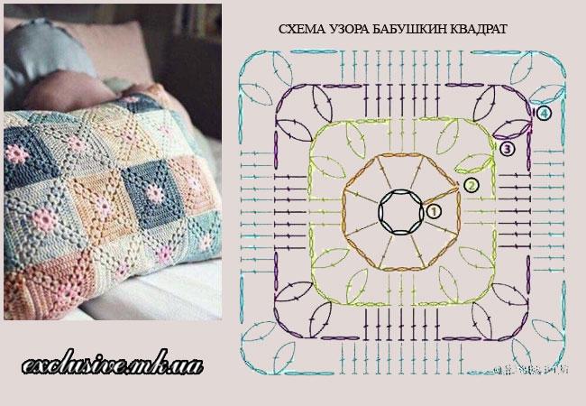 бабушкин квадрат схема-1