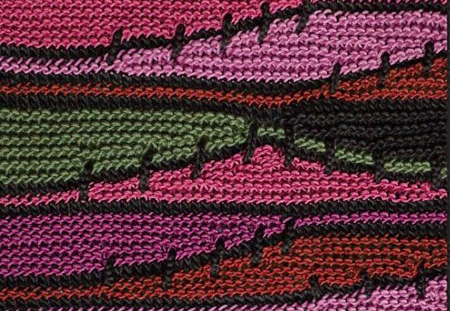 свинг-частичное вязание