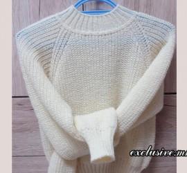 свитерок жемчужной резинкой
